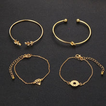 Load image into Gallery viewer, 4pcs/Set Fashion Bohemia  Bracelet for Women - Hanna Rings