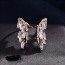 Load image into Gallery viewer, Butterfly Wings Crystal Ring - Hanna Rings