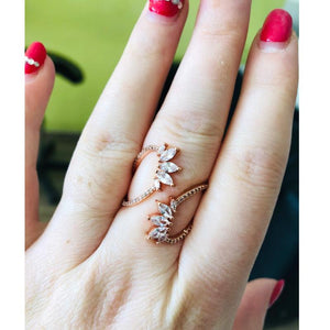 Morocco Elegance Wrap Ring - Hanna Rings