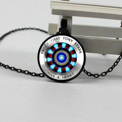 2019 new hot iron man necklace - Hanna Rings