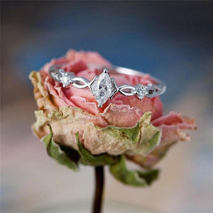 Crystal Goddess Ring - Hanna Rings