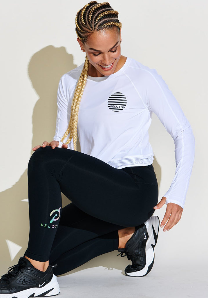 Peloton Stripe in Stride Long Sleeve