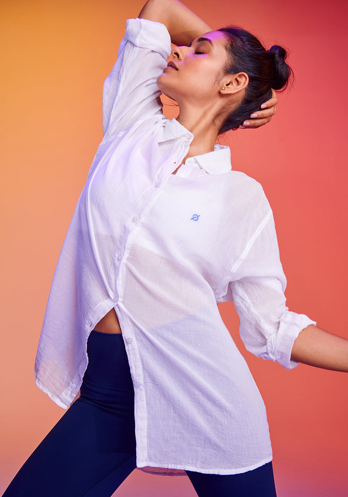 Summertime Oversized Shirting