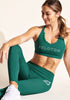 Peloton Emerald Scallop Legging