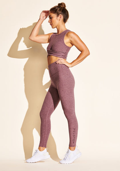 Peloton Spacedye High Waist Midi Legging