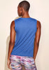 Double Brushed Muscle Tank (blue)