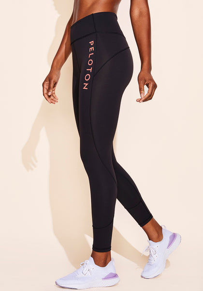 "Peloton In Movement Legging 25"" (Coral Logo)"