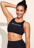 Peloton Free To Be High Neck Bra (Mint Logo)