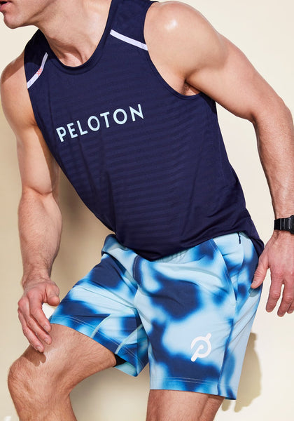 "Peloton 7"" Unlined Printed Short"