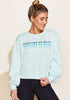 Peloton Mint Crew Neck