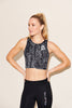 Peloton Energetic Edge Reflective Crop Tank