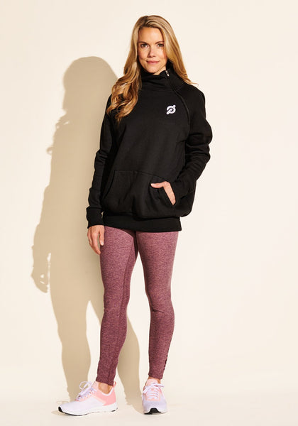 Side Zip Sweatshirt