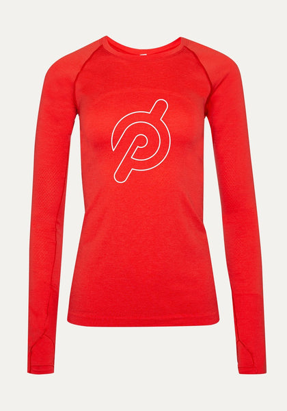 Peloton Red Swiftly Long Sleeve