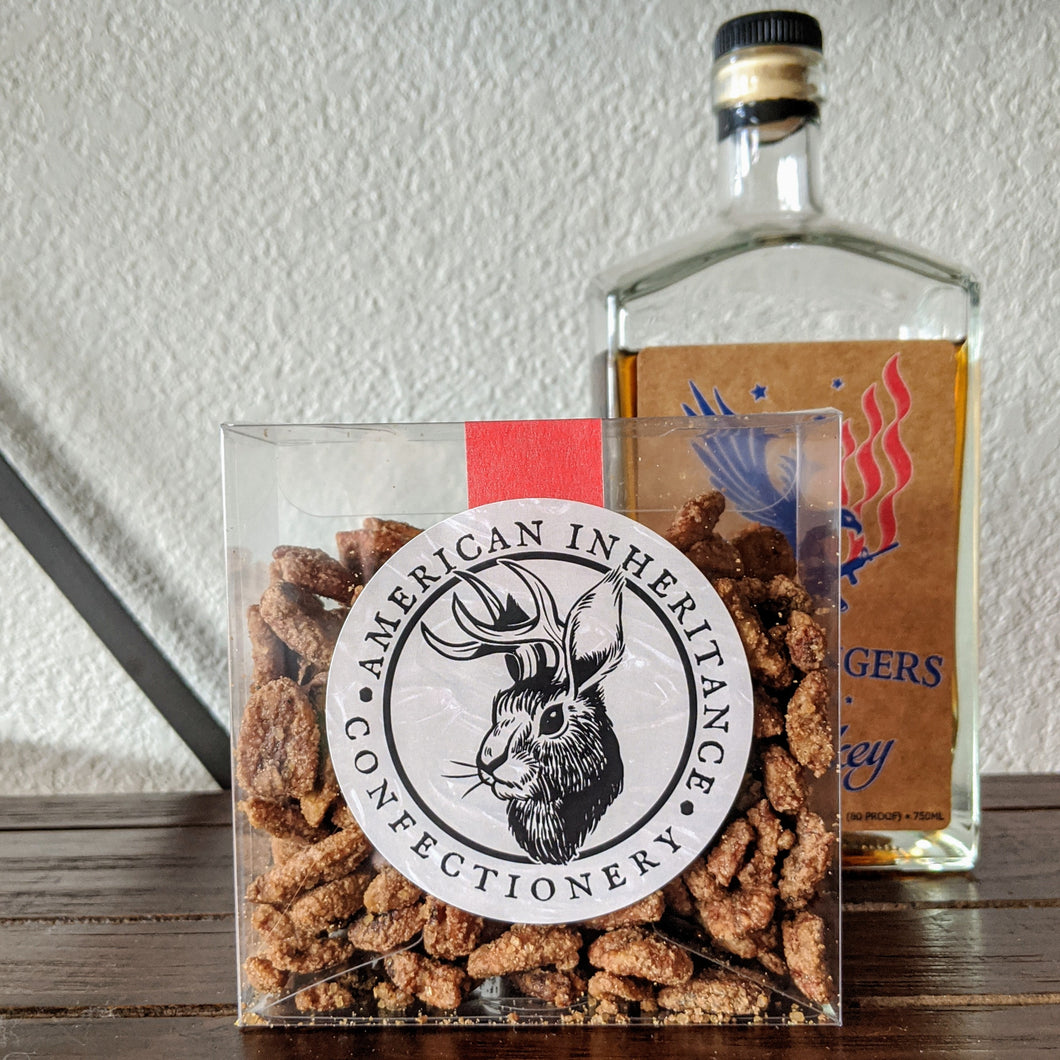 Whiskey Glazed pecans