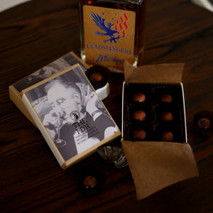 The FDR - Vanilla infused Bourbon Caramels