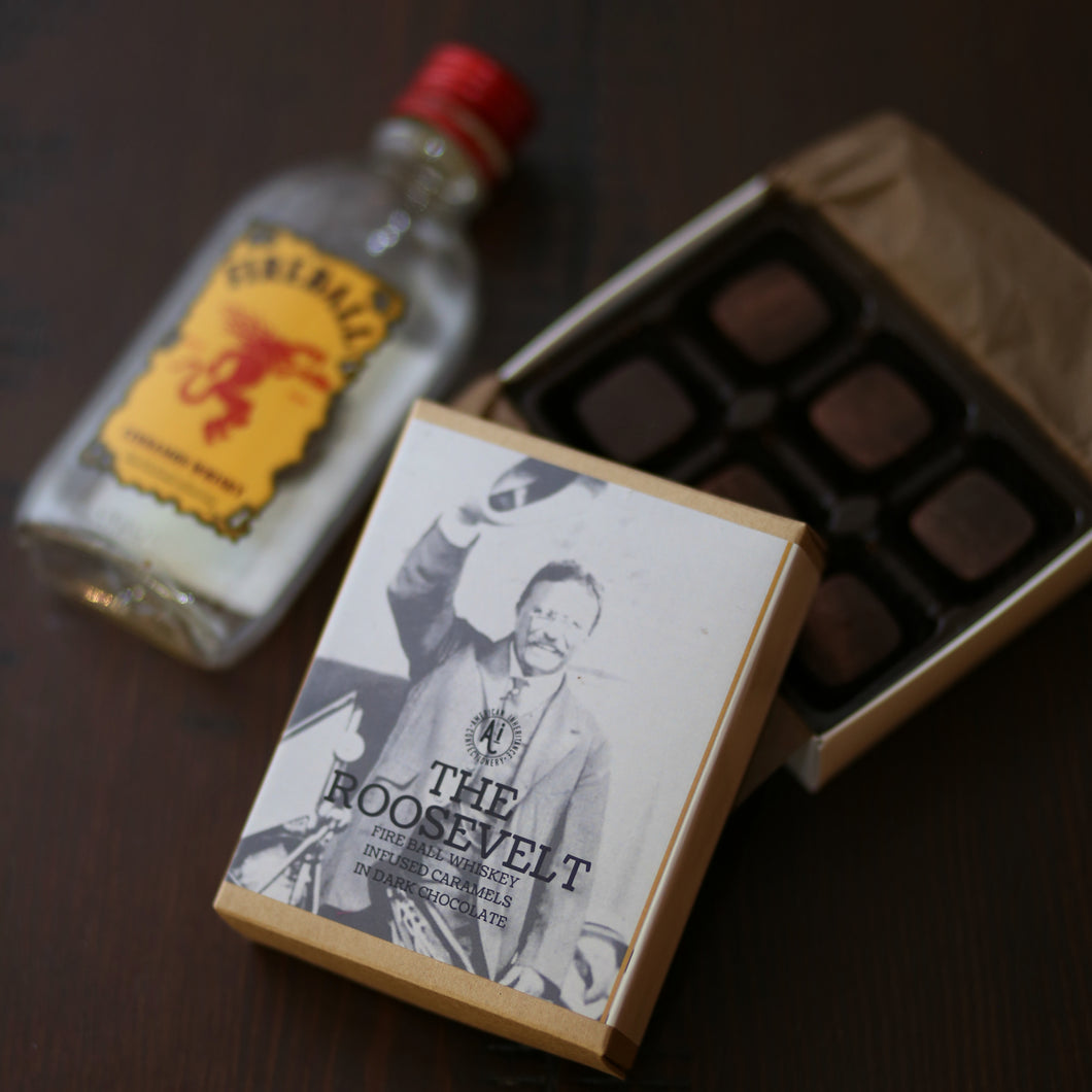 The Roosevelts - Fireball Whiskey Caramel