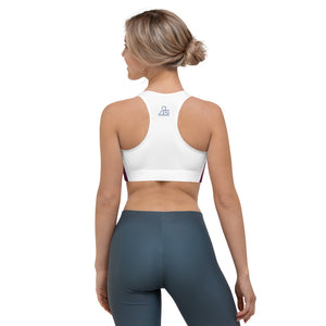 back of sports bra for women