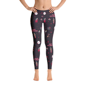 NEW! Nova Jade Halloween Print Leggings For Women