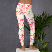 Load image into Gallery viewer, yoga pants with flowers