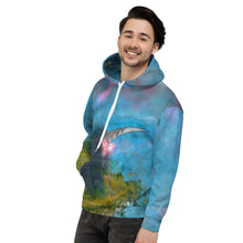 Load image into Gallery viewer, Unisex Hoodie With Reaper And Lightning