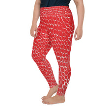 Load image into Gallery viewer, Dead Sea Dragon Skin Yoga Leggings With Pocket Plus Size