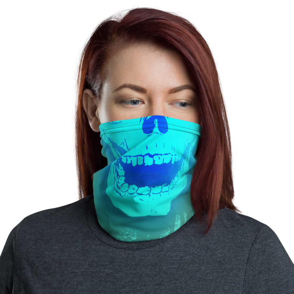 Chain Breaker Neck Gaiter Blue