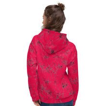 Load image into Gallery viewer, Hot Pink Crinkle Unisex Hoodie