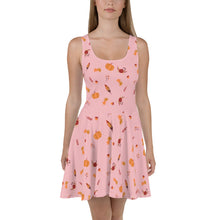 Load image into Gallery viewer, NEW! Nova Jade Fall Print Skater Dress For Women