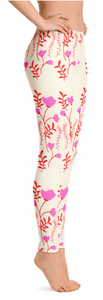 NEW! Nova Jade Floral Print Leggings For Women