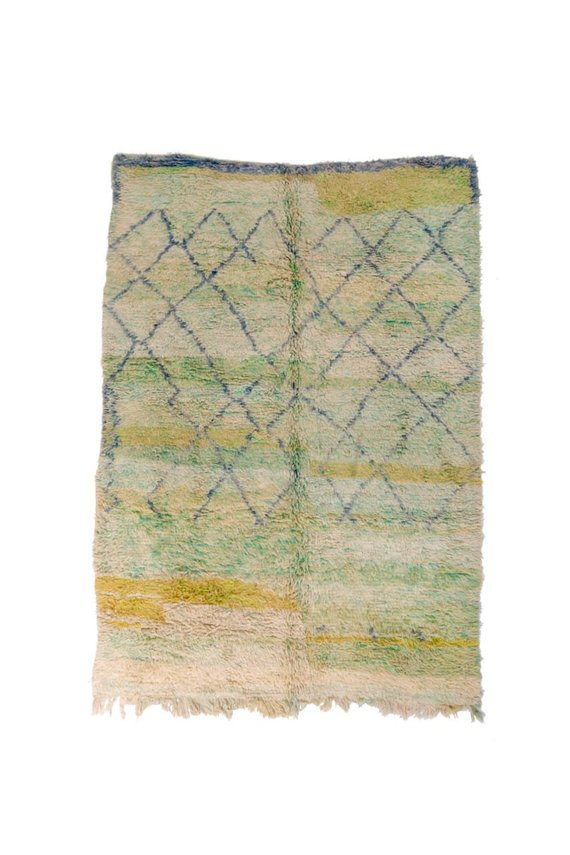 Gorgeous beni ouarian rugs, silky wool carpets,berber teppich,tapis berber