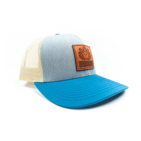 Trucker Hat - Blue/Grey