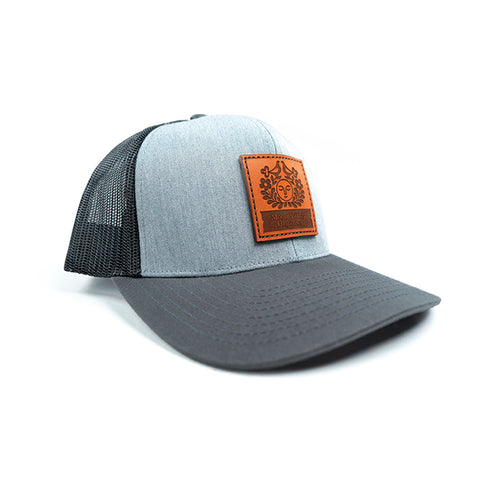 Trucker Hat - Grey/Charcoal