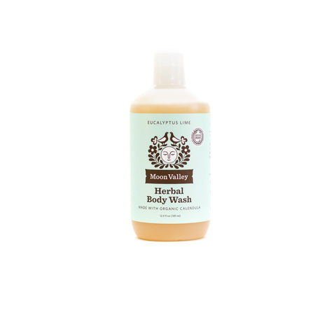 Herbal Body Wash - Eucalyptus Lime - Front