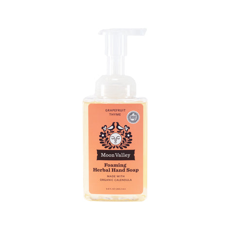 Grapefruit Thyme Herbal Foaming Soap