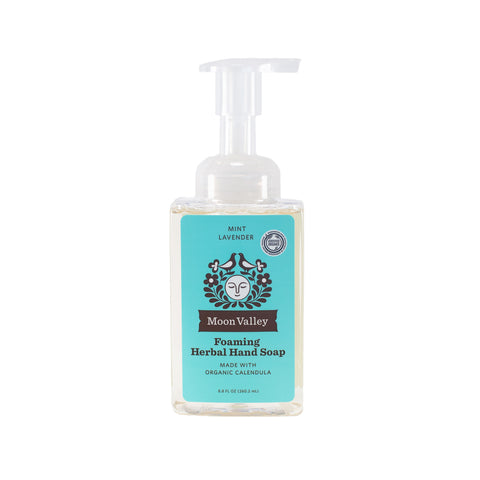 Mint Lavender Herbal Foaming Soap