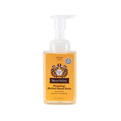Orange Spice Herbal Foaming Soap