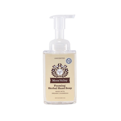 Unscented Herbal Foaming Soap
