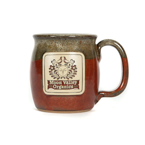 Brick Red - Moon Valley Organics Mug