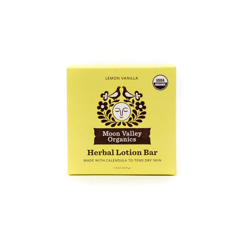 Herbal Lotion Bar Lemon Vanilla