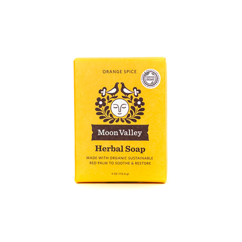 Orange Spice Herbal Soap