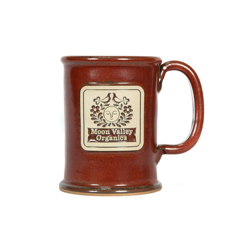 Sunfire Red - Moon Valley Organics Mug