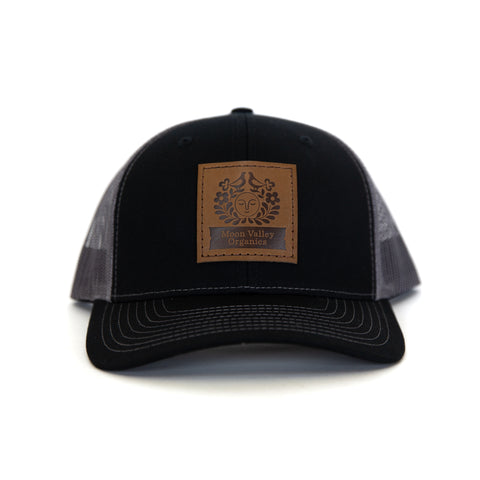 Black Charcoal  Trucker Hat