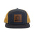 Charcoal Gold Trucker Hat