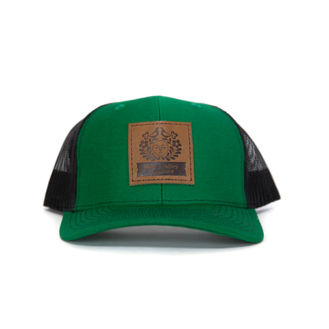 Green Black Trucker Hat