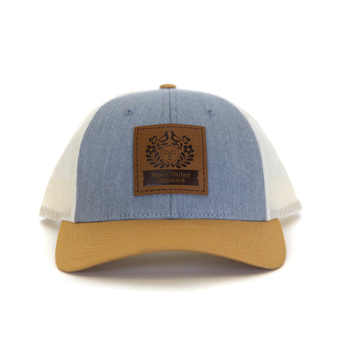 Heather Grey/Birch/Amber Gold Trucker Hat