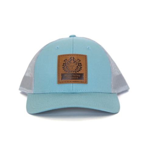 Smoke Blue/Aluminum Trucker Hat