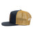 Charcoal Gold Trucker Hat Side