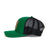 Green Black Trucker Hat Side