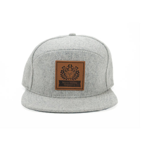 Wool Trucker Hat - Light Grey - Front