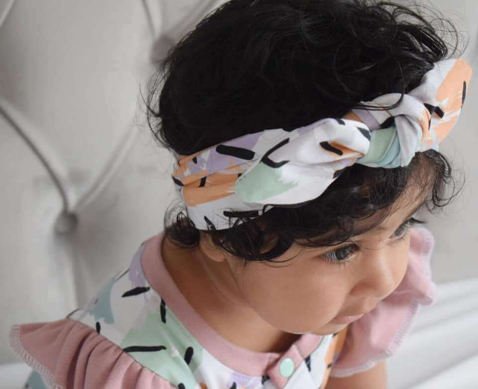 Lottie & Lysh baby turbans handmade in the uk